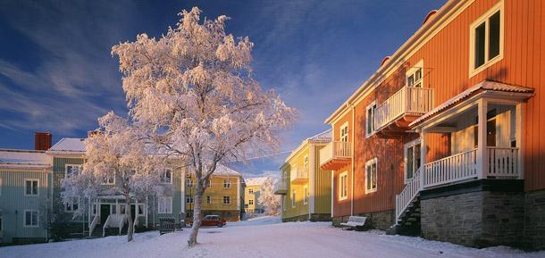 The town of Kiruna, 2003