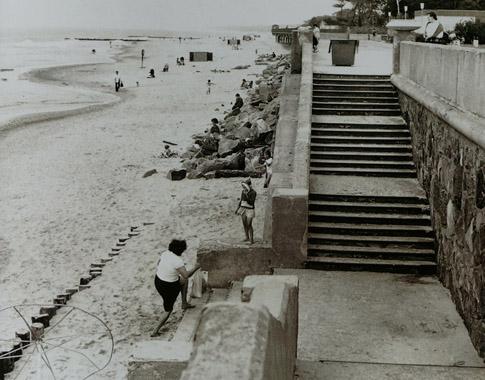 Zelenogradsk, The beach, 1986