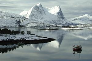 Boat in Efjord, 2005