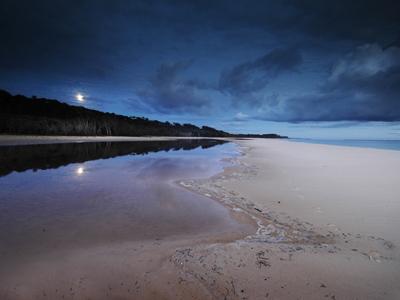 North Stradbroke Island, early morning Moonset, 2005