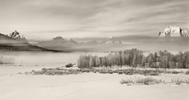Layers Of Silence, Grand Teton National Park, 2003