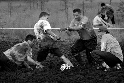 Swamp Soccer, World CS in Hyrynsalmi_11, 2003